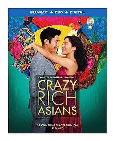 Crazy Rich Asians is the Top Blu-ray & DVD Rentals Chart Title