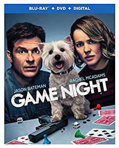Game Night is the Top Blu-ray & DVD Rentals List