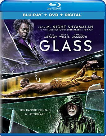 Glass is the Top Blu-ray & DVD Rentals chart title