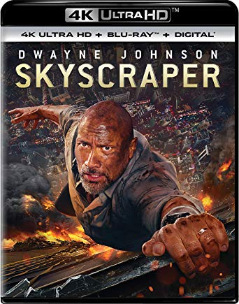 Skyscraper is the Top Blu-ray & DVD Rentals Chart Title
