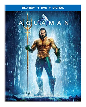 Aquaman is the Top Blu-ray DVD Sellers Chart Title