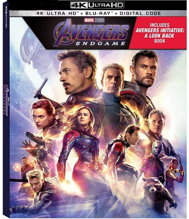 Avengers Endgame is the Top Blu-ray DVD Sellers Chart Title