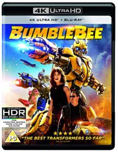 Bumblebee is the Top DVD Sellers Chart title