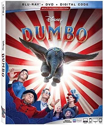 Dumbo is the Top Blu-ray DVD Sellers Chart Title