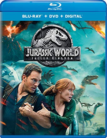 Jurassic World: Fallen Kingdom is the Top Blu-ray DVD Sellers Chart and the Top Blu-ray & DVD Rentals Chart