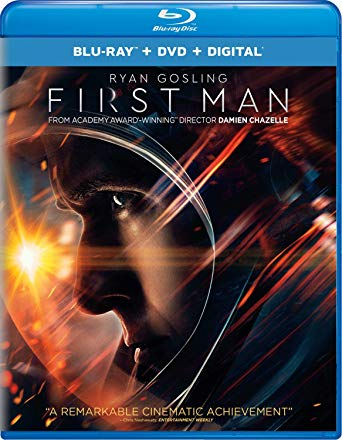 First Man is the Top Blu-ray & DVD Rentals Chart Title