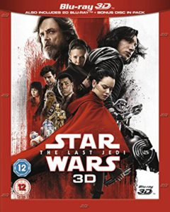 Star Wars The Last Jedi is the Top Blu-ray DVD Sellers week of April 7, 2018