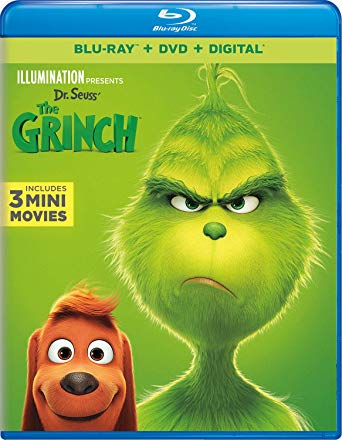 The Grinch is the Top Blu-ray DVD Sellers Chart title
