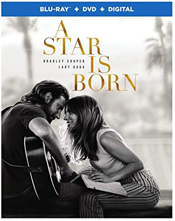 A Star Is Born is the Top Blu-ray DVD Sellers Chart Title and the Top Blu-ray & DVD Rentals Chart Title