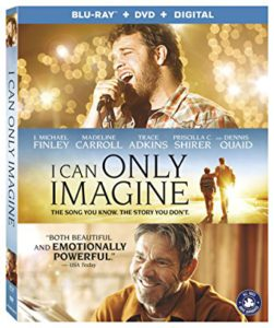 I Can Only Imagine is the Top Blu-ray DVD Sellers title