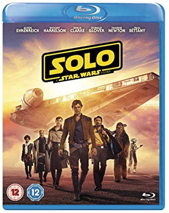 Solo: A Star Wars Story is the Top Blu-ray DVD Sellers Chart title