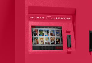 A Redbox kiosk will now have 4K UHD Blu-ray discs.
