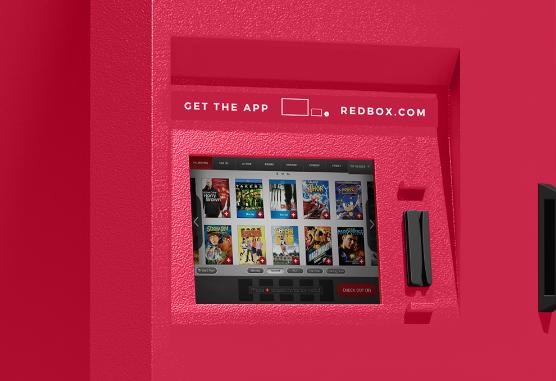 A Redbox kios