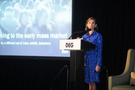 DEG President and CEO Amy Jo Smith