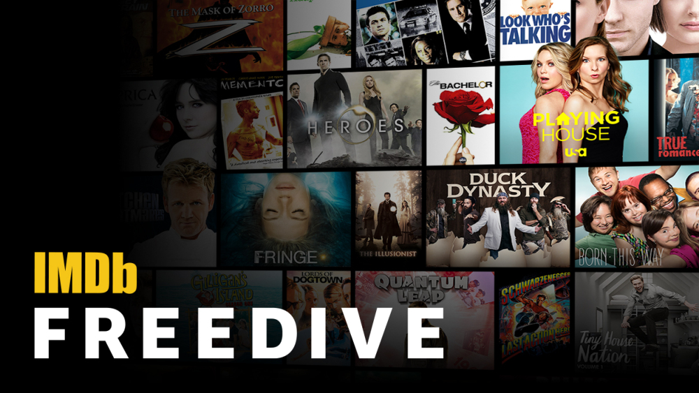 IMDb Freedive is Amazon's AVOD service.