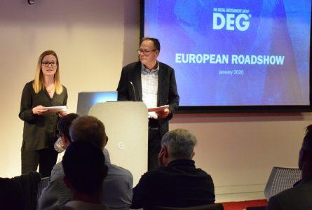 European Road Show 2020: Marie-Claire Benson & Chris Duffy