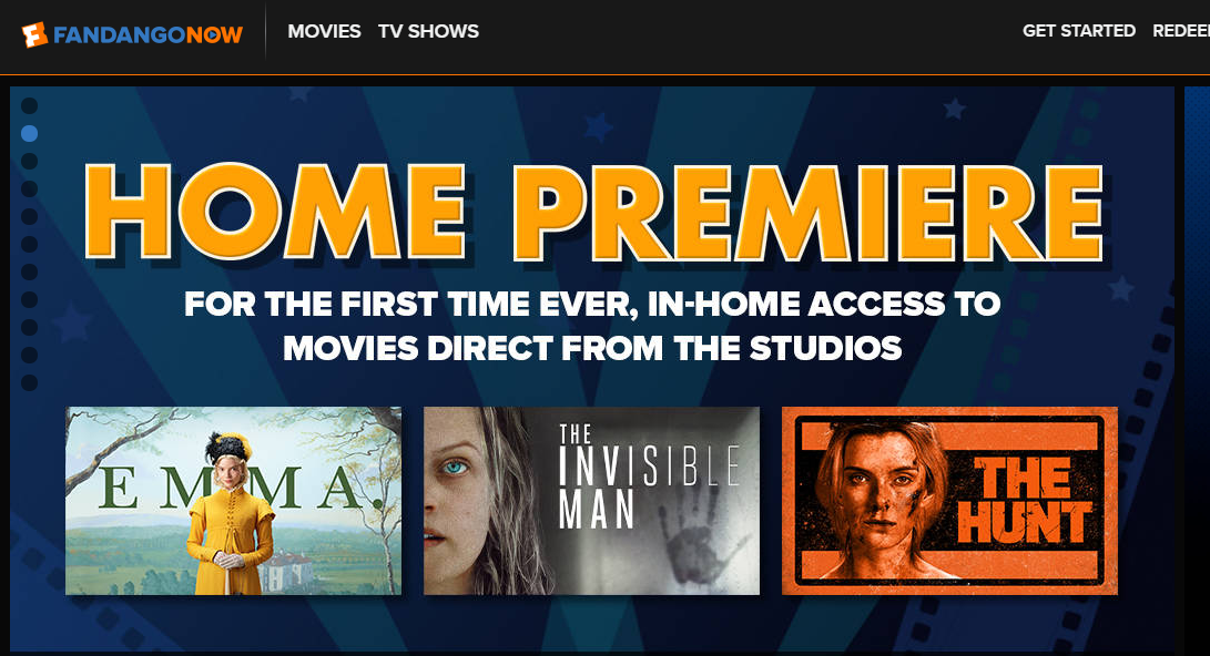 Home Premiere is FandangoNOW's brand for early blockbusters online.