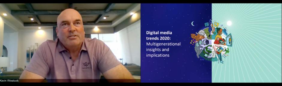 Kevin Westcott Deloitte D2C Expo Screenshot
